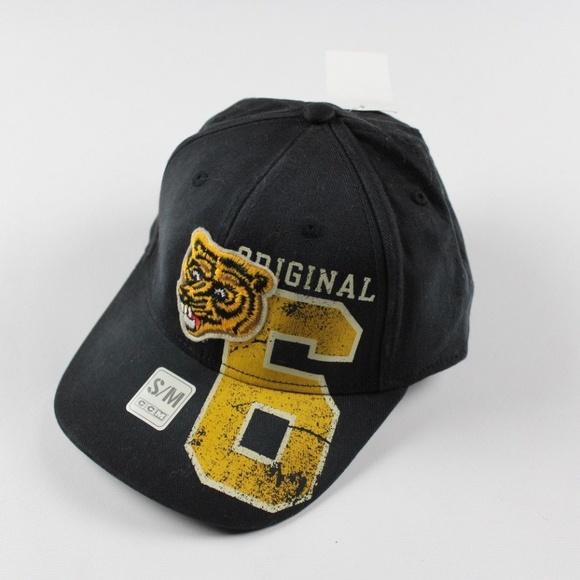 Rare Sample CCM Adidas Bruins Logo Bear Hat Sz S M 1d2971f5494